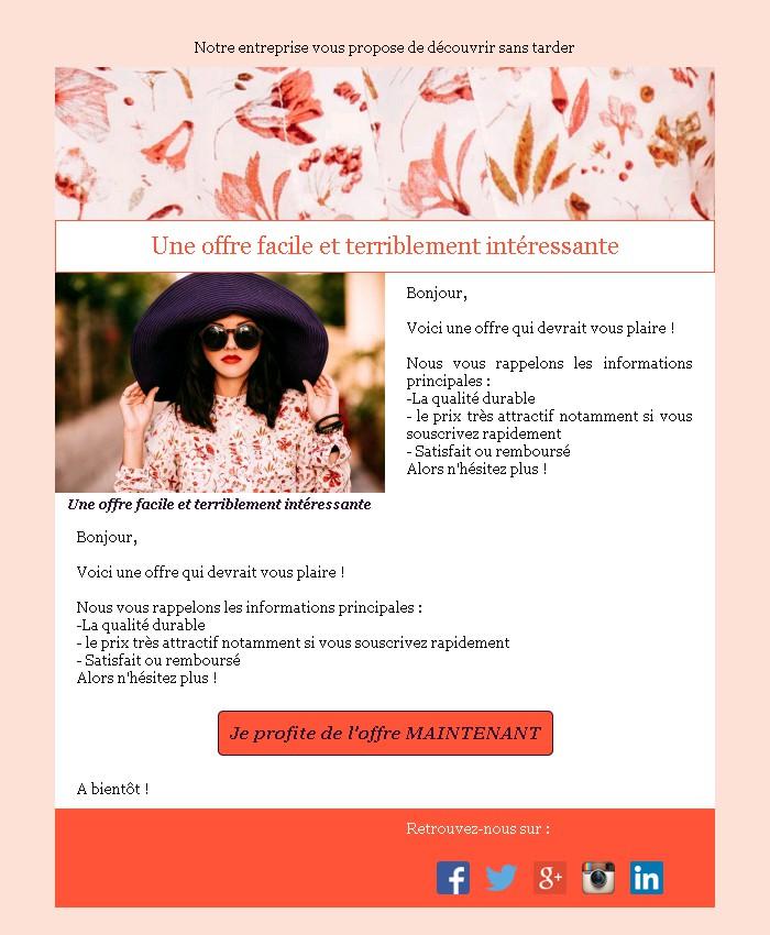 Annonce Et Promotion Message Business