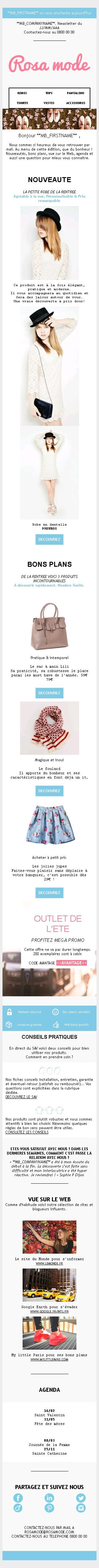 Mode  Léa Genovesi