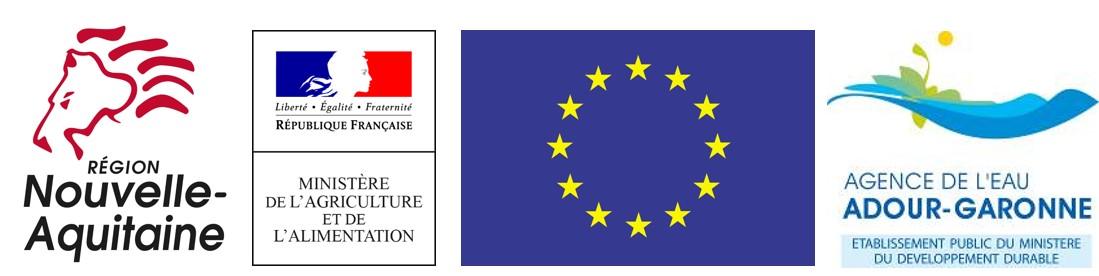 Logos des soutiens publics